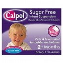 Calpol Sugar Free Infant  Sachets (12) from 2 months